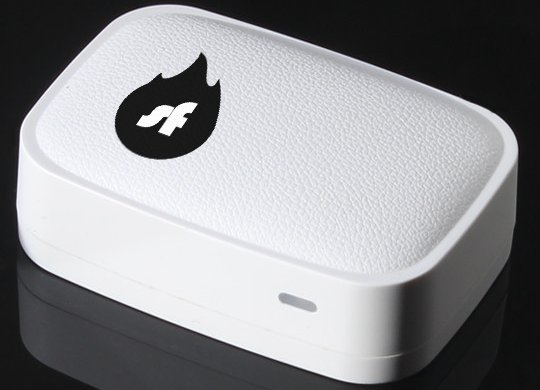 Shellfire Box sur ordinateur portable